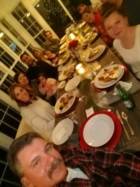 2017 Christmas Frank's selfie of everyone