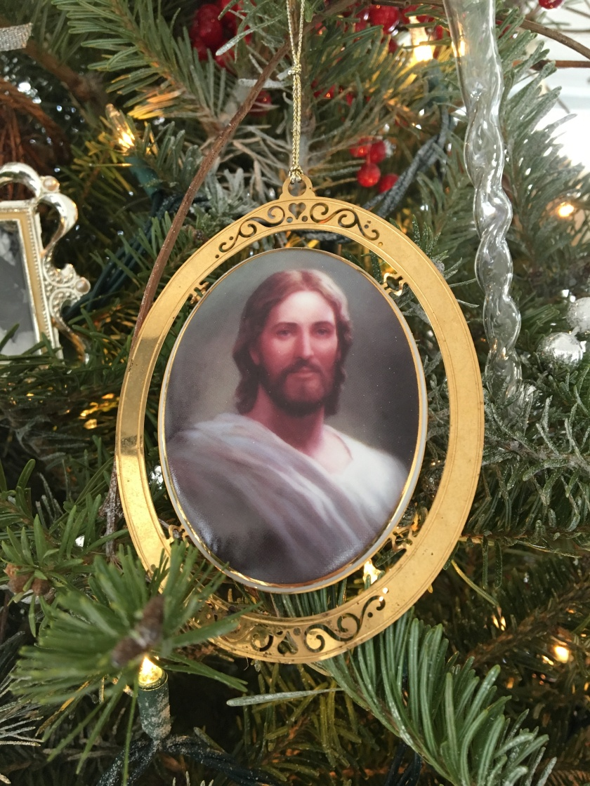 2017 Christmas Jesus ornament