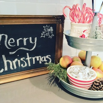 2017 Christmas kitchen sign