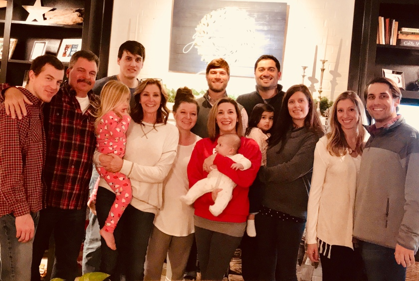 2017 Christmas the whole family